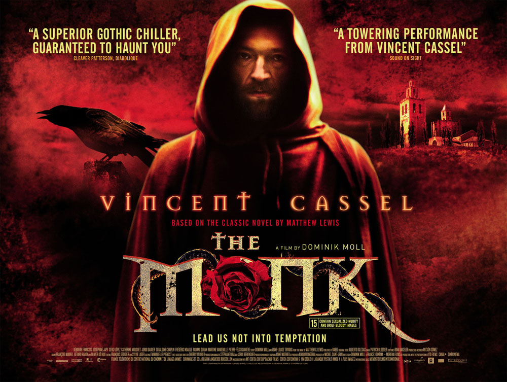 The Monk - UK Quad Poster