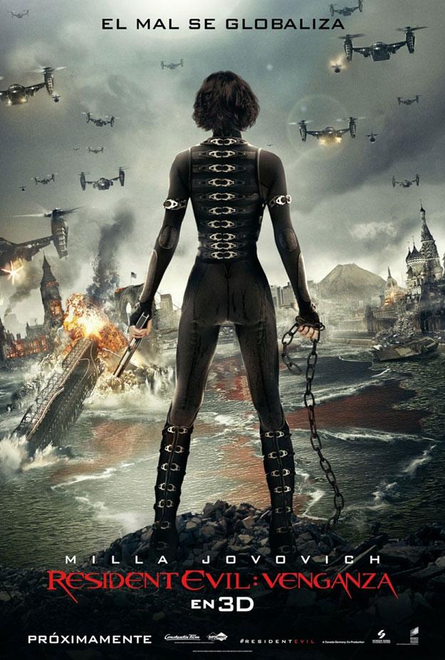 Resident Evil Retribution Trailer Scannain