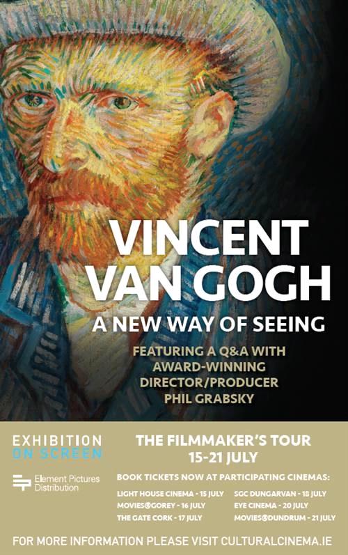 Vincent van Gogh Exhibition On Screen